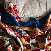 Для дома и интерьера ручной работы. Ярмарка Мастеров - ручная работа Лоскутное одеяло, лоскутный плед. Handmade.