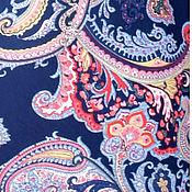 """Материалы для творчества ручной работы. Ярмарка Мастеров - ручная работа Трикотажное полотно """"Пейсли"""". Handmade."""