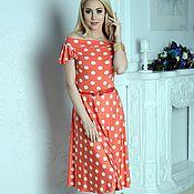 Одежда handmade. Livemaster - original item Dress summer dress polka dot. Handmade.