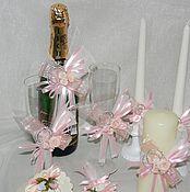 Свадебный салон ручной работы. Ярмарка Мастеров - ручная работа Свадебный комплект. Handmade.