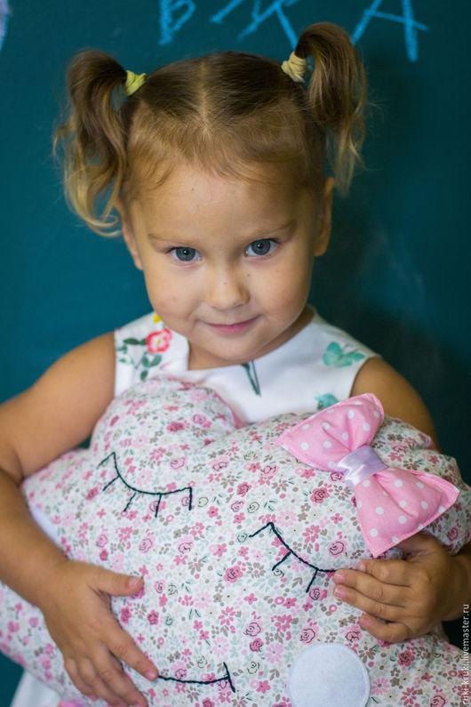 Детская ручной работы. Ярмарка Мастеров - ручная работа. Купить Подушка облако. Handmade. Подушка-игрушка, облака, розовый