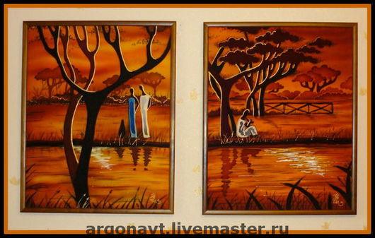 Диптих На оранжевой реке