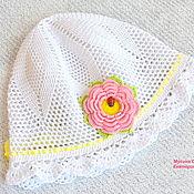 Аксессуары handmade. Livemaster - original item Panama hats for girls
