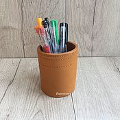 Канцелярские товары handmade. Livemaster - original item Cup for pens. Handmade.