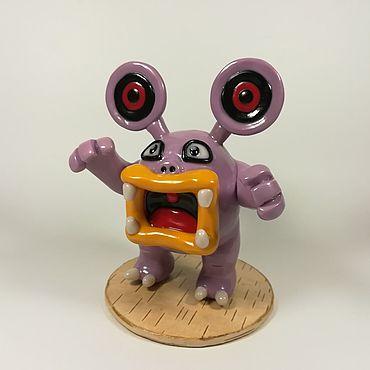 Куклы и игрушки ручной работы. Ярмарка Мастеров - ручная работа Покемон Лаудред Коллекционная игрушка. Handmade.