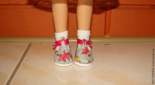 Одежда для кукол ручной работы. Ярмарка Мастеров - ручная работа. Купить Туфельки для куклы Паола Райна. Handmade. Комбинированный