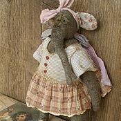 Куклы и игрушки ручной работы. Ярмарка Мастеров - ручная работа Слон тедди .... Манюня:). Handmade.