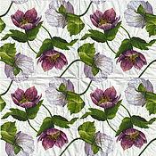 Материалы для творчества handmade. Livemaster - original item 18pcs decoupage napkins blooming magnolia print. Handmade.