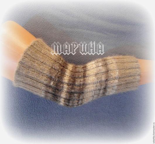 Носки, Чулки ручной работы. Ярмарка Мастеров - ручная работа. Купить НАЛОКОТНИК-НАКОЛЕННИК собачий пух. Handmade. Комбинированный, наколеннник