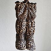 Обувь ручной работы. Ярмарка Мастеров - ручная работа Домашние ботфорты для дам с характером. Handmade.