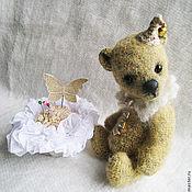 Куклы и игрушки ручной работы. Ярмарка Мастеров - ручная работа Мишка-цветик Ромашкин. Handmade.