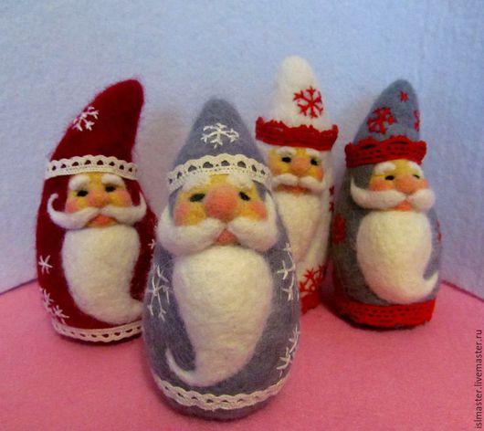Новогодние игрушки Дед Мороз