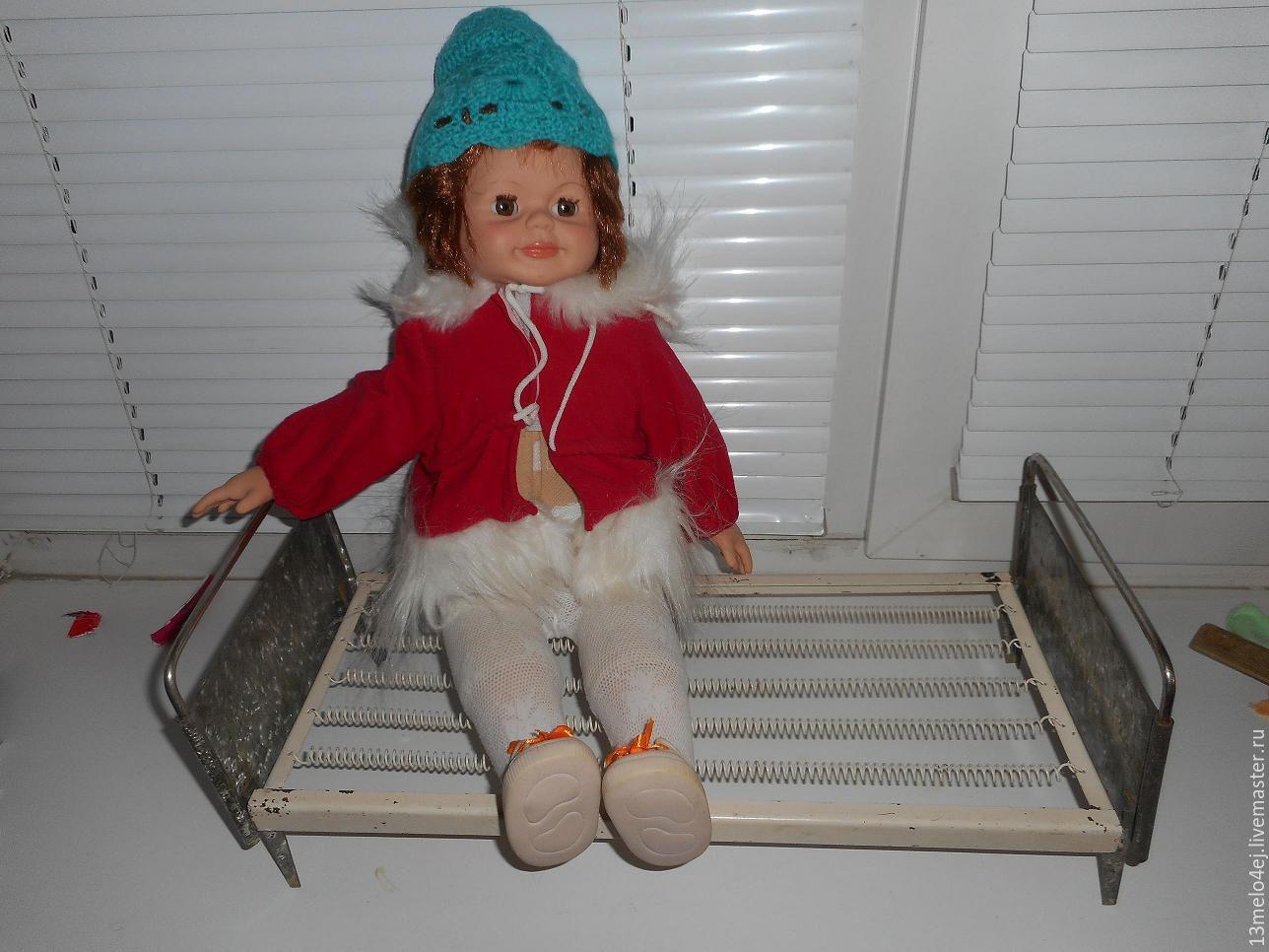 Винтаж: Кровать для куклы, СССР, Предметы интерьера винтажные, Волгоград,  Фото №1