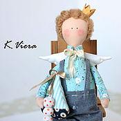 Куклы и игрушки ручной работы. Ярмарка Мастеров - ручная работа Ангел тильда. Handmade.