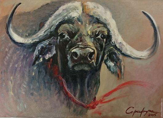 Животные ручной работы. Ярмарка Мастеров - ручная работа. Купить Подарок мужчине рожденному в год быка или под знаком тельца. Handmade.