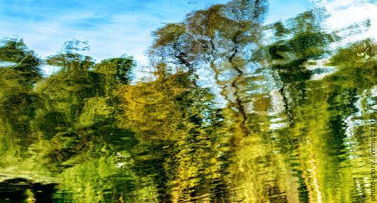 """Фотокартины ручной работы. Ярмарка Мастеров - ручная работа. Купить Фотокартина """"Возвращение Ван Гога"""". Handmade. Разноцветный, пейзаж"""