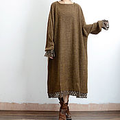 Одежда handmade. Livemaster - original item stylish wool plataporma Dolman decorated with festoon. Handmade.