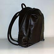 Сумки и аксессуары handmade. Livemaster - original item Backpack leather 58. Handmade.