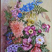 """Картины и панно ручной работы. Ярмарка Мастеров - ручная работа картина """"Радуга"""". Handmade."""