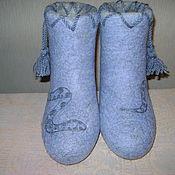 """Обувь ручной работы. Ярмарка Мастеров - ручная работа Валенки""""Норковая змейка"""". Handmade."""