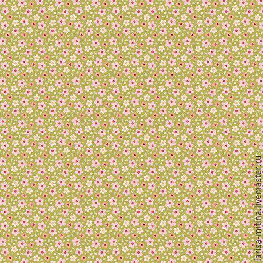 Шитье ручной работы. Ярмарка Мастеров - ручная работа. Купить Ткань Тильда  Celia Green. Handmade. Разноцветный, ткань тильда