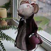Куклы и игрушки ручной работы. Ярмарка Мастеров - ручная работа мышка Анжелина. Handmade.