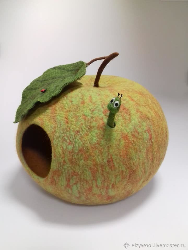 Felted cat house for the Green Apple, Pet House, Tallinn,  Фото №1