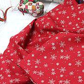 Материалы для творчества ручной работы. Ярмарка Мастеров - ручная работа Хлопок К3-2 снежинки Корея. Handmade.