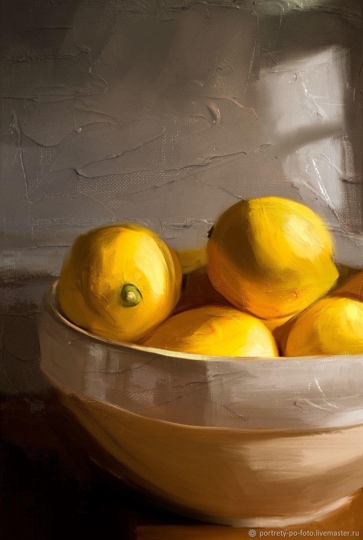 Чаша лимонов, Иллюстрации и рисунки, Саратов,  Фото №1