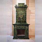 Для дома и интерьера handmade. Livemaster - original item Tile fireplace Rosehip. Handmade.