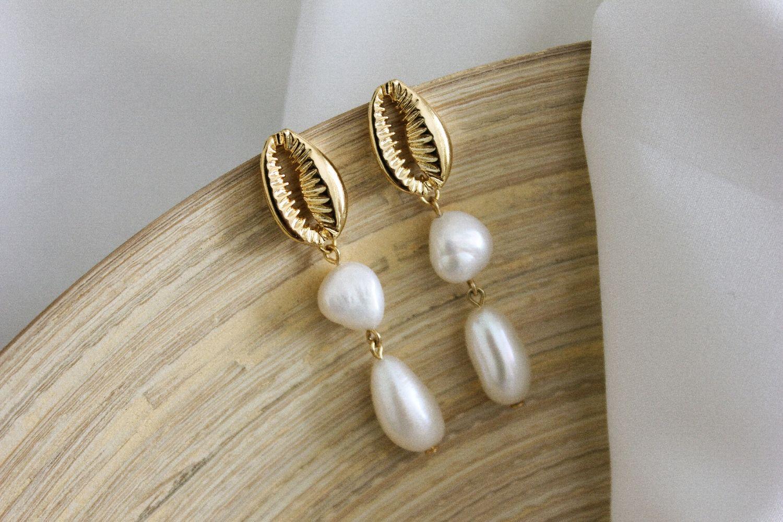 Pearl earrings, Earrings, Ufa,  Фото №1