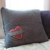 Для дома и интерьера handmade. Livemaster - original item Soft buddy Pillowcase on pillow. Handmade.