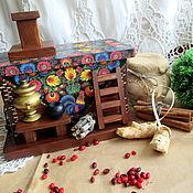 Домики ручной работы. Ярмарка Мастеров - ручная работа Печка для чая Русские традиции. Handmade.