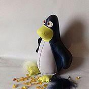 Куклы и игрушки ручной работы. Ярмарка Мастеров - ручная работа Пингвин. Handmade.