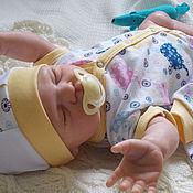 Работы для детей, ручной работы. Ярмарка Мастеров - ручная работа Боди для новорожденных. Handmade.