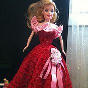 Куклы и игрушки ручной работы. Ярмарка Мастеров - ручная работа Платье для куклы Барби. Handmade.