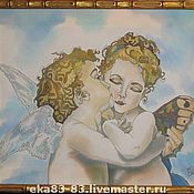 Картины и панно ручной работы. Ярмарка Мастеров - ручная работа Ангелочки. Handmade.