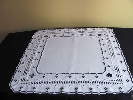Текстиль, ковры ручной работы. Ярмарка Мастеров - ручная работа. Купить Скатерть ручной работы, вышивка Hardanger, Хардангер. Handmade.
