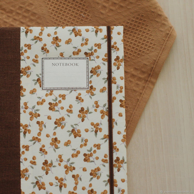 Блокнот с тканевой обложкой / А5, Блокноты, Санкт-Петербург,  Фото №1