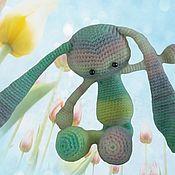Куклы и игрушки ручной работы. Ярмарка Мастеров - ручная работа Заяц Ушастик. Handmade.