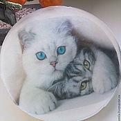 Косметика ручной работы. Ярмарка Мастеров - ручная работа Кот мыло-открытка. Handmade.