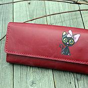 Сумки и аксессуары handmade. Livemaster - original item Women`s Leather Wallet Koteyka. Handmade.