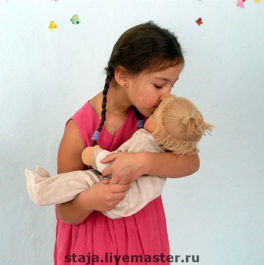 Вальдорфская игрушка ручной работы. Ярмарка Мастеров - ручная работа. Купить Большаааая кукла младенец.. Handmade. Кукла-младенец