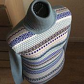 Одежда ручной работы. Ярмарка Мастеров - ручная работа Водолазка из кашемира Loro Piana. Handmade.
