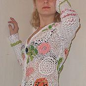 """Одежда ручной работы. Ярмарка Мастеров - ручная работа Жакет """"Нежность"""". Handmade."""