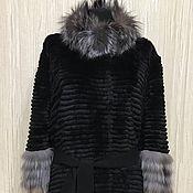 Одежда handmade. Livemaster - original item Cardigan cashmere fur. Handmade.
