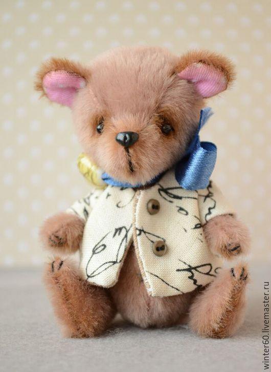 Мишки Тедди ручной работы. Ярмарка Мастеров - ручная работа. Купить Мишутка Митюня. Handmade. Кремовый, подарок, пластика