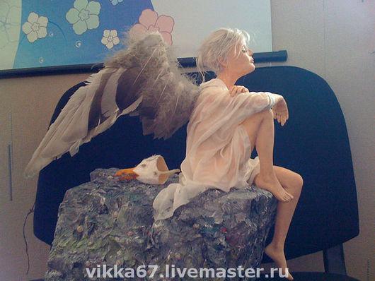 Коллекционные куклы ручной работы. Ярмарка Мастеров - ручная работа. Купить Чайка по имени Джонатан Ливингстон. Handmade. Интерьерная кукла