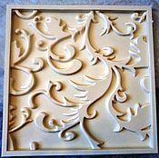 Материалы для творчества ручной работы. Ярмарка Мастеров - ручная работа Полиуретановая 3D форма Узор. Handmade.