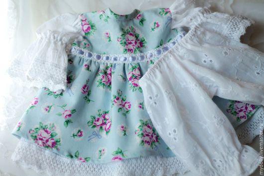 Одежда для кукол ручной работы. Ярмарка Мастеров - ручная работа. Купить Комплект одежды для куклы 38- 43 см. Handmade.